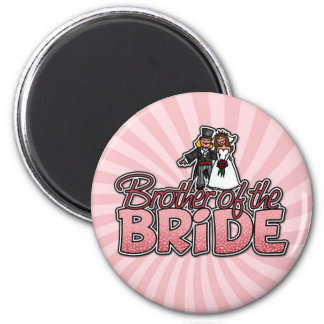 brother of the bride magnet