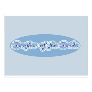 Brother of the Bride Post Card