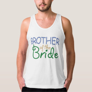 Brother of the Bride Tank Top