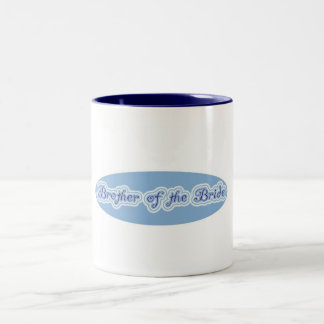 Brother of the Bride Two-Tone Coffee Mug