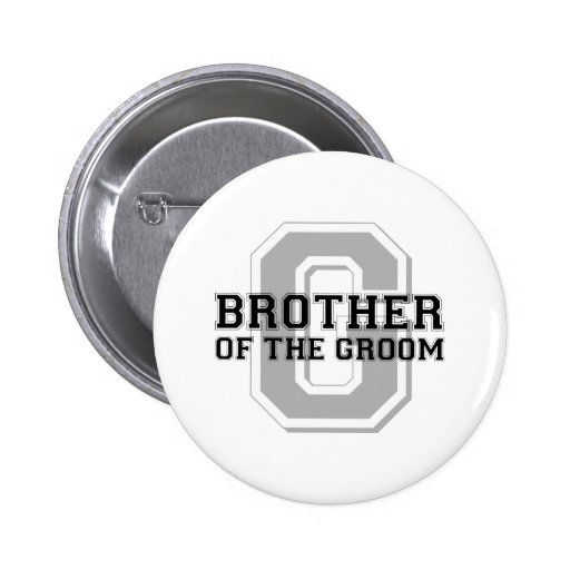 Brother of the Groom Cheer 2 Inch Round Button