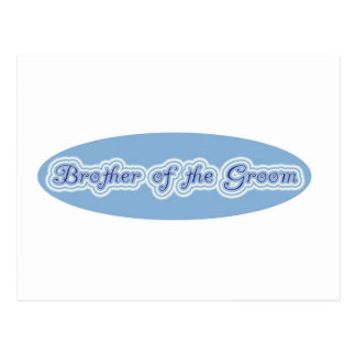 Brother of the Groom Postcards