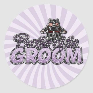 brother of the groom stickers