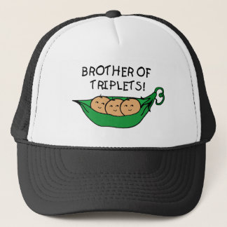Brother of Triplets Pod Trucker Hat