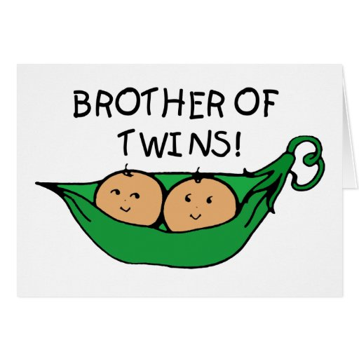 Brother of Twins Pod Card