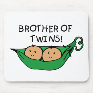 Brother of Twins Pod Mouse Pad