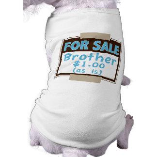 Brother para la venta (como es) camisas de mascota