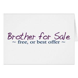 Brother para la venta tarjeta