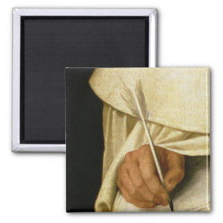 Brother Pedro Machado 2 Inch Square Magnet