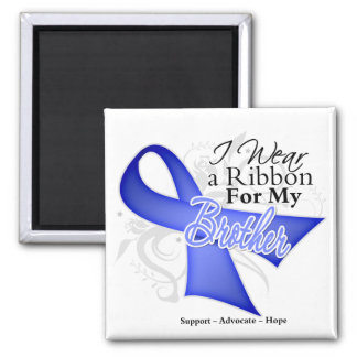 Brother Periwinkle Ribbon - Stomach Cancer Magnets