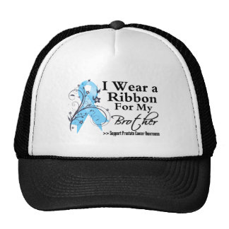 Brother Prostate Cancer Ribbon Trucker Hat