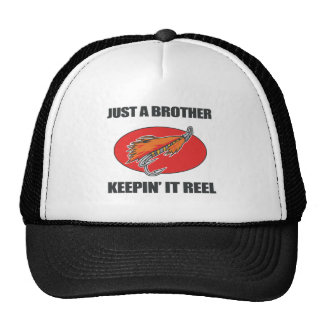 Brother que pesca el regalo gorras de camionero