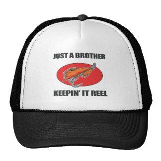 Brother que pesca el regalo gorras