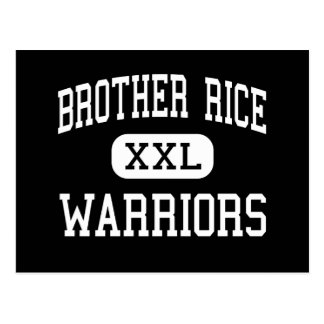 Brother Rice - Warriors - High - Bloomfield Hills Postcard