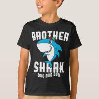 5ac1286d Brother Shark Boys Birthday Halloween Christmas. Boys' T-Shirts