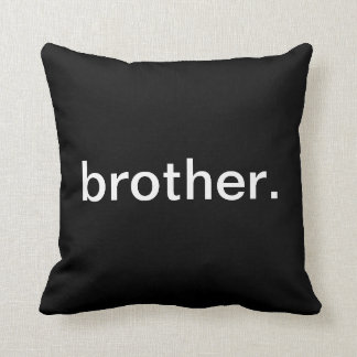 Brother Throw Pillow