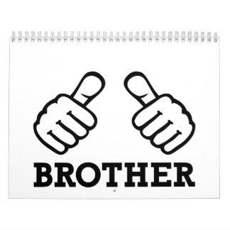 Brother thumbs calendar