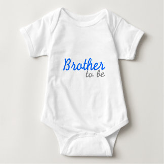 Brother To Be Baby Bodysuit