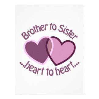 Brother To Sister Letterhead