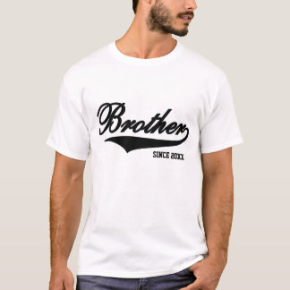 Brother White TShirt (Available In 18 Colors)