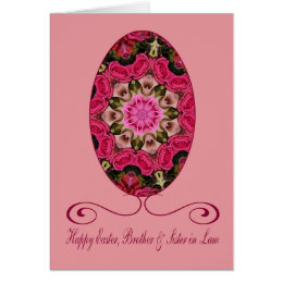 Wife easter gifts on zazzle brother wife happy easter card negle Images