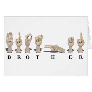 BrotherAmeslan062511 Tarjeta De Felicitación