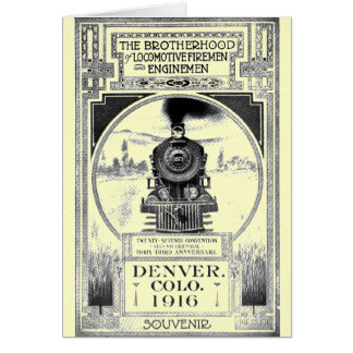 Brotherhood of Locomotive Firemen and Enginemen Greeting Cards