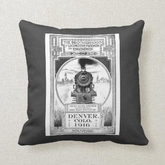 Brotherhood of Locomotive Firemen & Enginemen Throw Pillow