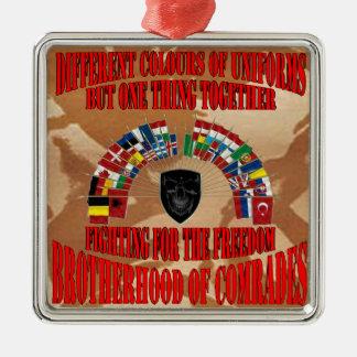Brotherhood OF Military Comrades Metal Ornament