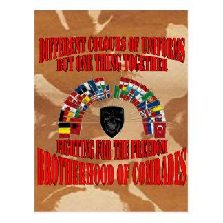 Brotherhood OF Military Comrades Postcard