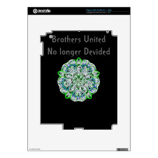 Brotherhood United Collection Decal For The iPad 2