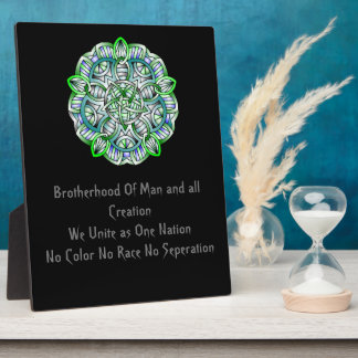Brotherhood United Collection Plaque
