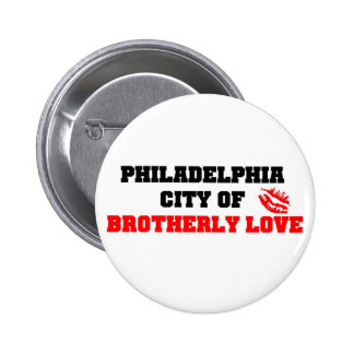 Brotherly Love Pinback Button