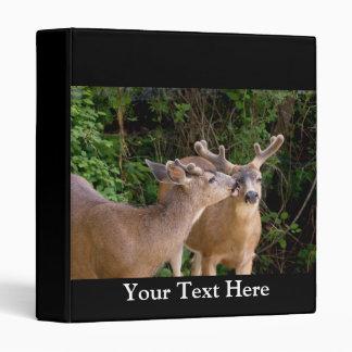 Brotherly Love Deer Bucks Binder