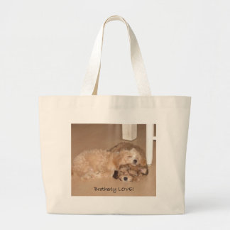 Brotherly Love- Large Tote Bag