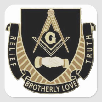 Brotherly Love Relief & Truth Square Sticker