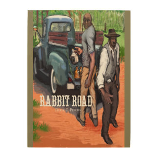 Brothers Bill and Bud on the Rabbit Road Wood Wall Decor