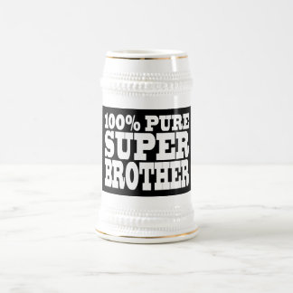 Brothers Birthday Parties 100% Pure Super Brother Beer Stein