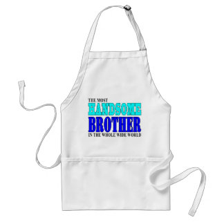 Brothers Birthdays Parties : Handsome Brother Aprons