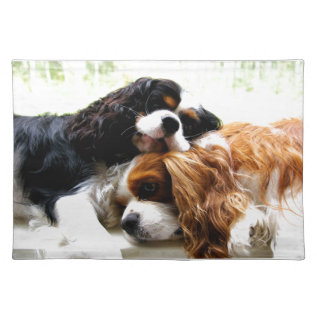 Brothers Cavaliers Placemat at Zazzle
