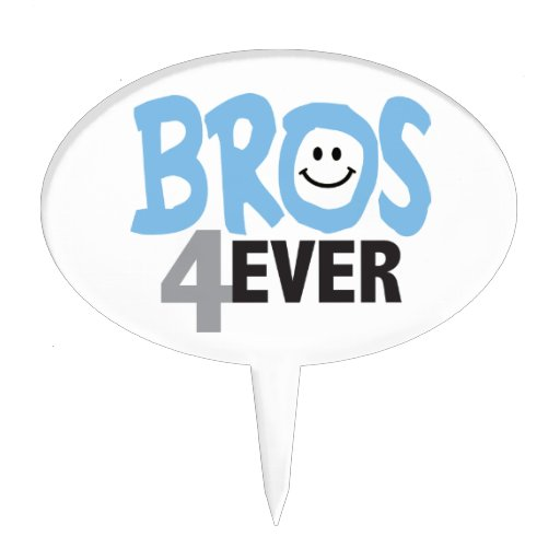 Brothers Forever Cake Toppers Zazzle
