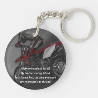 Brothers Forever - Chase and Chad Double-Sided Round Acrylic Keychain