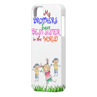 Brothers have Best Sister 4 Case-Mate Case iPhone 5 Case