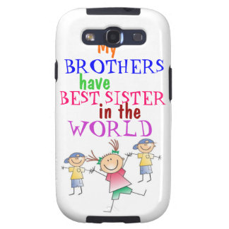 Brothers have Best Sister Samsung  Case-Mate Case Samsung Galaxy SIII Case