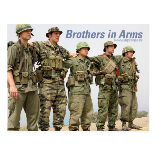 Brothers in Arms postcard