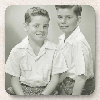 Brothers in Studio Coaster