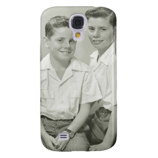 Brothers in Studio Galaxy S4 Case