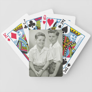 Brothers in Studio Bicycle Playing Cards