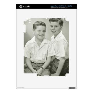 Brothers in Studio iPad 3 Skins