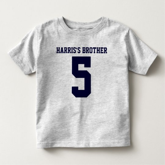 Brother's Number Toddler T-Shirt